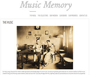 Music Memory, launched by Lance Ledbetter.