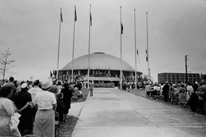 Richmond Times-Dispatch, Civil War Centennial Center, Downtown Richmond, 1962. Courtesy of the Valentine Richmond History Center.