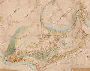 Maunsel White, Map 1814–1815 New Orleans, 1815. From Library of Congress Map Collections.