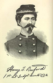 Harry T. Buford (Loreta Janeta Velazquez), First Lieutenant Independent Scouts C.S.A.  Illustration from The Woman in Battle (1876). Courtesy of Documenting the American South, University of North Carolina at Chapel Hill.