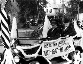Inaugural parade for Governor Sidney Johnston Catts, Tallahassee, Florida, 1917. Courtesy of State Archives of Florida