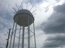 Watertower, still from Congregation, 2010.