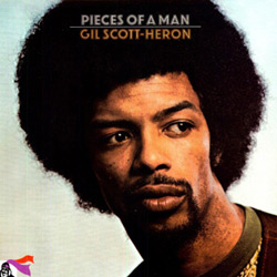 Cover of Gil Scott-Heron's album Pieces of a Man, 1971.