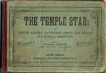 Cover of The Temple Star, edited by Aldine S. Kieffer, 1878. Courtesy of the Pitts Theology Library, Candler School of Theology, Emory University.