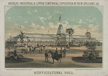 Thomas Hunter, World's Industrial & Cotton Centennial Exposition at New Orleans, Louisiana, 1884. Library of Congress, Prints & Photographs Division, Popular Graphic Arts Collection, LC-DIG-pga-01657.