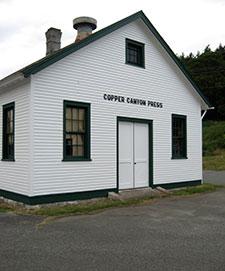 Carol Vallier Berg, Copper Canyon Press Building, Port Townsend, Washington, 2007.