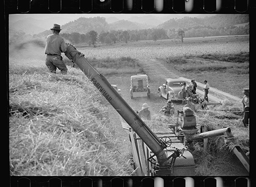 Carl Mydans, Untitled, Tygart Valley, West Virginia, August, 1936. Library of Congress Prints and Photographs Division, FSA/OWI Black & White Negatives Collection, LC-USF33-000722-M5.