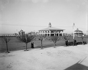 West End pavilions, New Orleans, c 1900. Library of Congress, Prints & Photographs Division, Detroit Publishing Company Collection, LC-D4-10119 R.