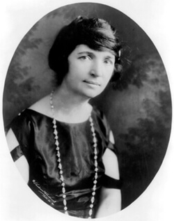 Underwood & Underwood Photography, Margaret Sanger, 1922. Courtesy of the Library of Congress.