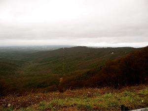 J. S. Clark, Former Cherokee landscape, Ellijay, Georgia, December 2006.