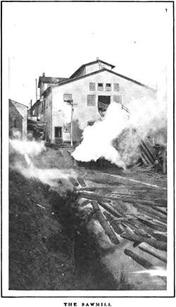 "Jackson Sawmill, Lockhart, Alabama. Alexander Irvine, ""My Life in Peonage,"" Appleton's Magazine, July 1907, 5."