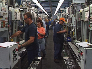 Workers at Toyoda/TRW Plant in Morristown, Tennessee, from Morristown: in the air and sun (2007).