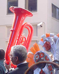 """Jazz Funeral for Anthony """"Tuba Fats"""" Lacen"""