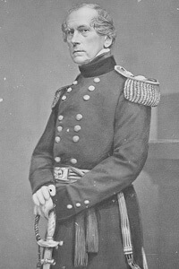 Matthew Brady, Portrait of General John E. Wool, Still Picture Records Section, National Archives.