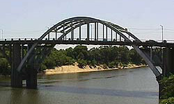 Edmund Pettus Bridge, Selma, Alabama.