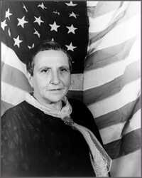 Portrait of Gertrude Stein By Carl Van Vechten, 1935