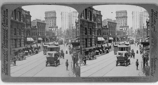 Library of Congress, Peachtree Street, Atlanta, Georgia, 1907.