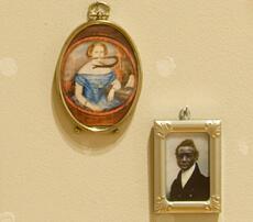 Susan Harbage Page and Juan Logan, Prop Master exhibit, Charleston, South Carolina, 2009. Photo: Rick Rhodes.