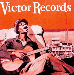 Cover of race records catalogue from Victor talking machine company, 1929.