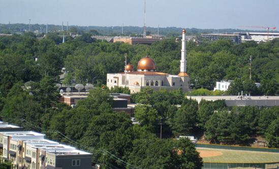 Chris Yunker, Al-Farooq Masjid Mosque, Atlanta, Georgia, 2009.