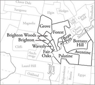Slave Neighborhoods along Second Creek, Stephen D. Weaver, 2007