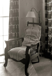 Nancy Marshall, O'Connor's chair, Andalusia, Spring 2007.