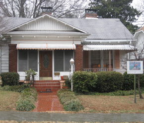 Joey Orr, Old Fourth Ward residence where the Jolly Twelve would gather before going out to a club or house party, Atlanta, Georgia, 2009.