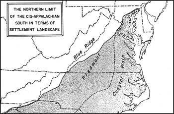 Introduction, Wilbur Zelinsky maps, courtesy University of Iowa Press.