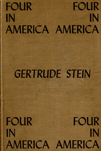 Cover of Stein's Four in America, 1947