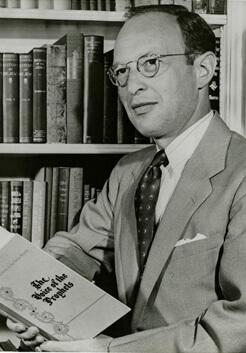 Portrait of Jacob Rothschild, 1946.