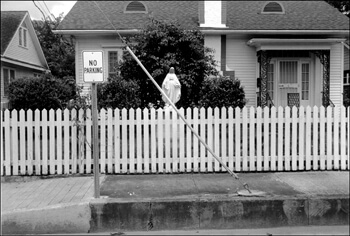 David Wharton, House on West Vermilion Street, Lafayette, Louisiana.