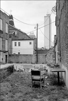 David Wharton, Outdoor Table and Chair, Mobile, Alabama