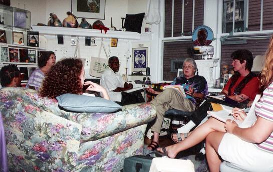 Photographer unknown, Charis Circle board meeting, Atlanta, Georgia, mid 1990s.
