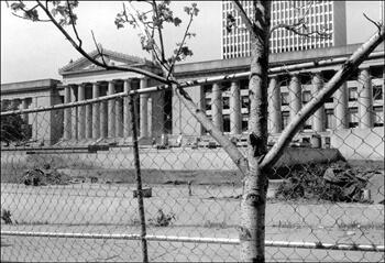 David Wharton, Renovation, War Memorial Building, Nashville, Tennessee