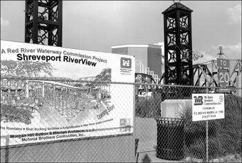David Wharton, Artist's Rendering of RiverView, Shreveport, Louisiana.