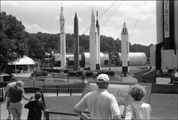 David Wharton, Tourists and Rockets, U. S. Space and Rocket Center, Huntsville, Alabama