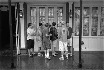David Wharton, College Boys, Bourbon Street, French Quarter, New Orleans, Louisiana