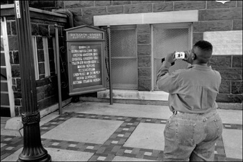 David Wharton, Tourist Photographer, Sixteenth Street Baptist Church, Birmingham, Alabama
