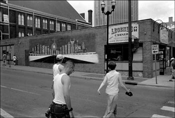 David Wharton, Tourists and Legends Corner, Lower Broadway, Nashville