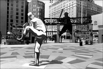 David Wharton, Baseball Figures, Autozone Park, Memphis, Tennessee