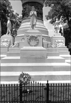 David Wharton, Confederate Memorial, Alabama State Capitol Grounds, Montgomery, Alabama