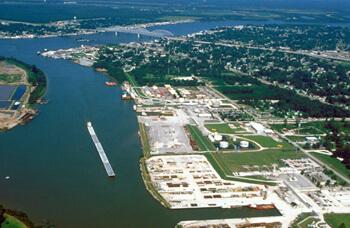 Arthur Belala, U.S. Army Corps of Engineers Digital Visual Library,  Gautreaux's hometown of Morgan City, Louisiana, 1999.