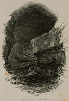 Horace Martin, The Star Chamber, Mammoth Cave, Kentucky, 1851.