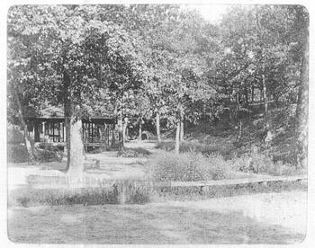 Ponce de Leon Park Springs circa 1895, from the Healey Collection, courtesy the Atlanta-Fulton County Public Library