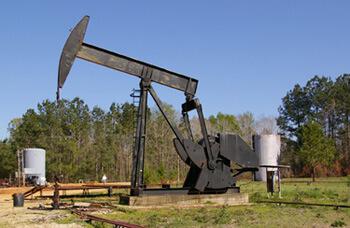 Paul Heinrich, Walking beam in the Greensburg Oil Field, St. Helena Parish, Louisiana, 2008.