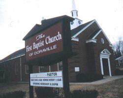 The First Baptist Church of Doraville. Doraville, Georgia. Photo by Mary Odem, 2001