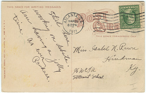 Ponce de Leon Springs Postcard