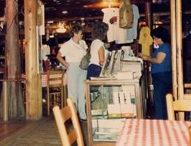 Mulate's Cajun Restaurant and Dance Hall, Breaux Bridge, Louisiana, 1986.