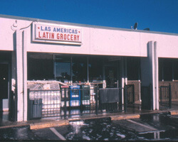 Las Americas Grocery Store. Doraville, Georgia. Photo by Mary Odem, 2000