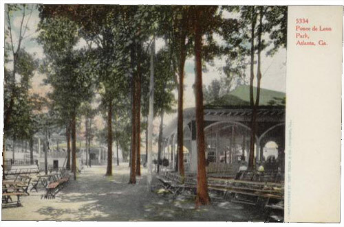 Ponce De Leon postcard, circa 1906.